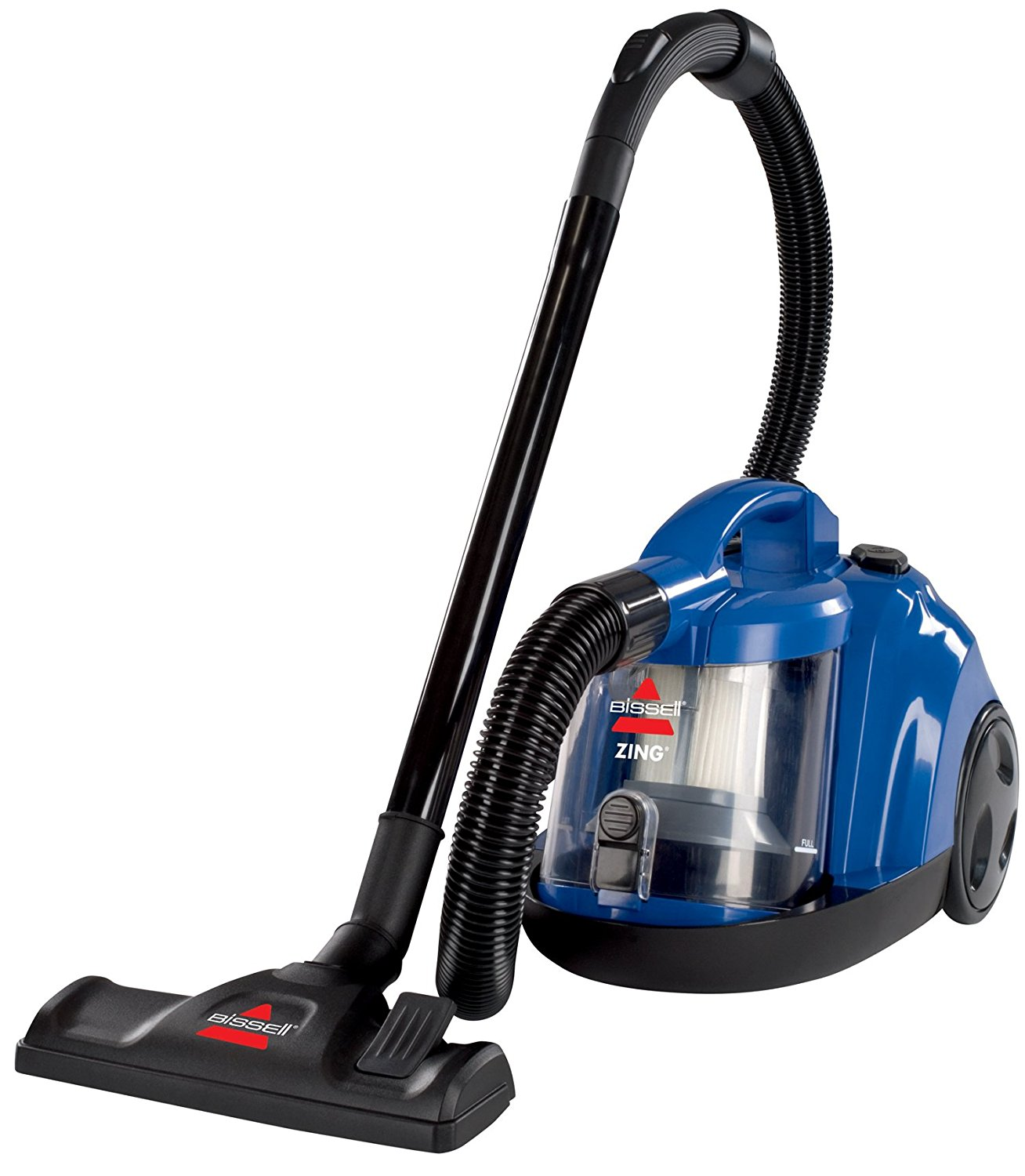 use Bissell Zing Rewind Bagless Canister Vacuum