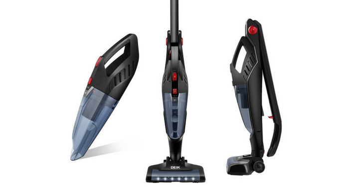 deik 2 in 1 cordless bagless stick and handheld vacuum cleaner review itbcbuffalo. Black Bedroom Furniture Sets. Home Design Ideas