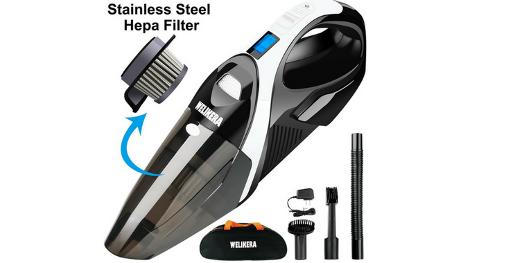 WELIKERA 12V 100W Handheld Cordless Vacuum Cleaner Review