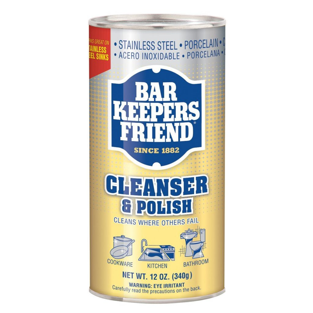Bar Keeper's Friend Cleanser and Polish