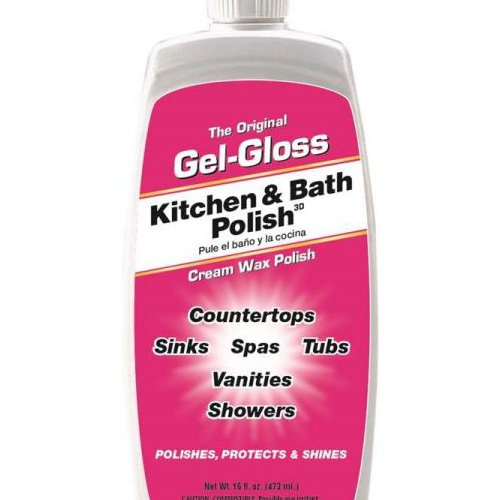 The Original Gel-Gloss Kitchen and Bath Polish and Protector