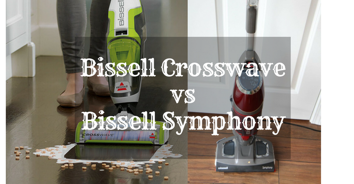 Bissell Crosswave vs Bissell Symphony
